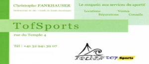 Logo Tof sports